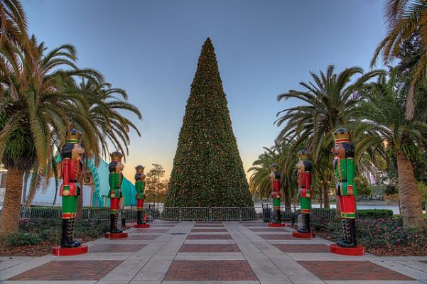 Christmas Tree at Lake Eola
